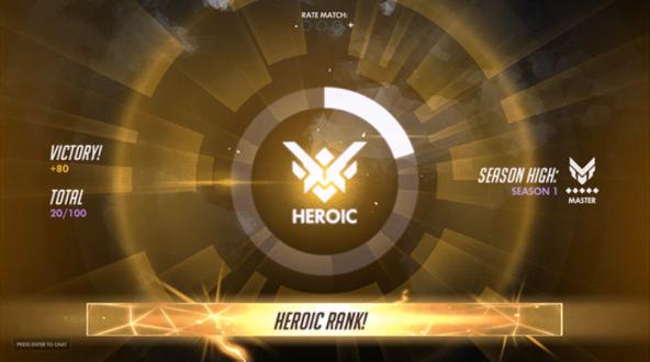 Heroic Overwatch