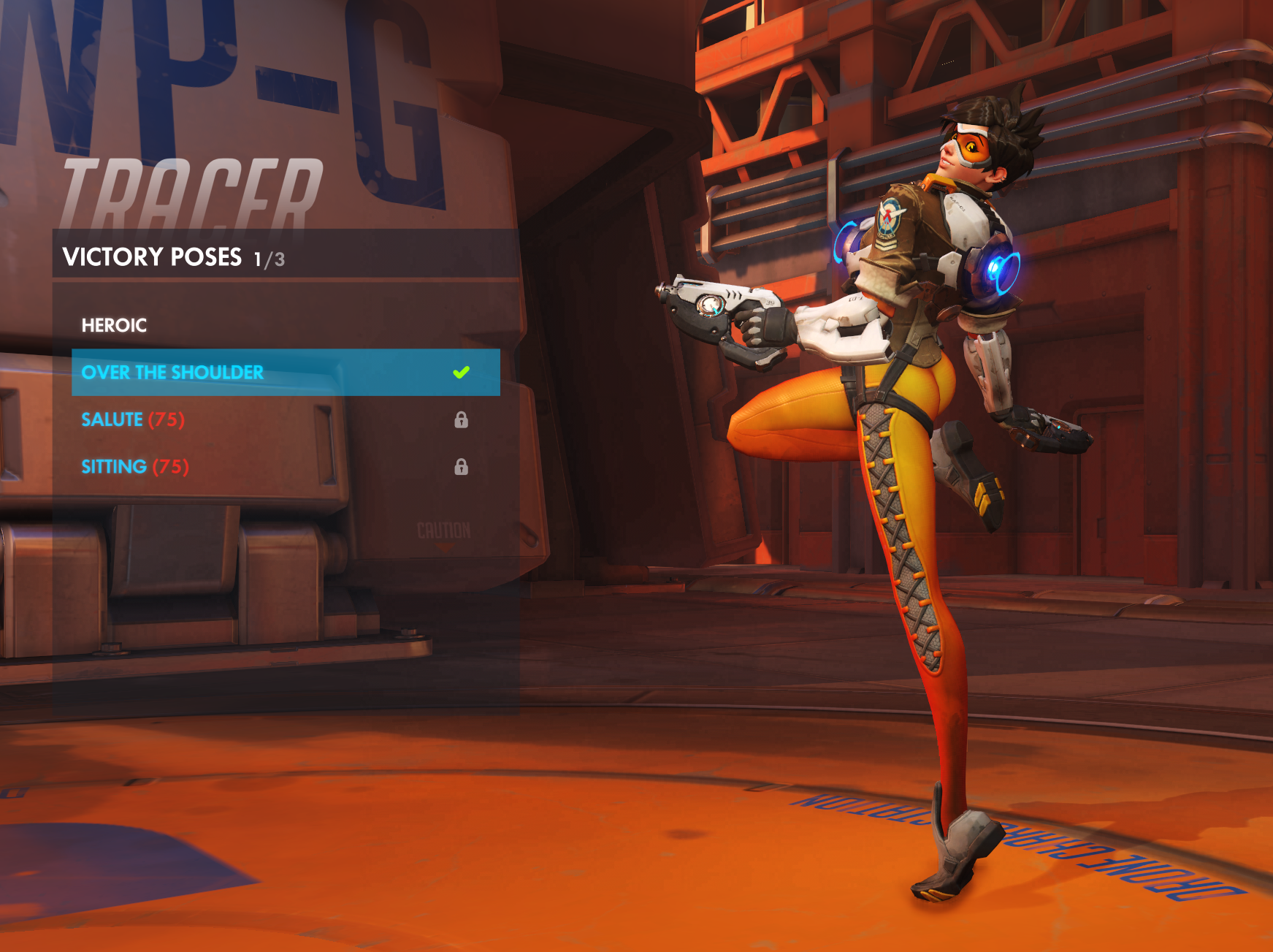 Tracer New Pose