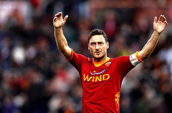 «Манчестер Сити» – «Рома». Тотти стал самым возрастным автором гола в истории Лиги чемпионов