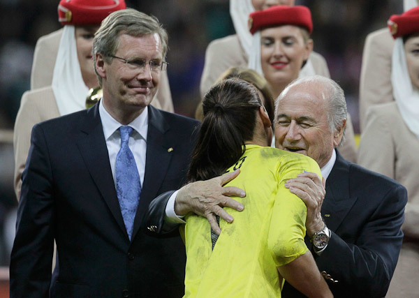 ФИФА: «Во время ЧМ-2014 Бразильская конфедерация футбола разослала памятные часы самым разным людям, включая членов исполкома»