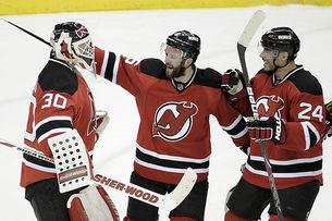 Энди Грин из «Нью-Джерси» провел 500 матч в НХЛ