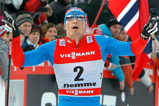 Легендарная победа наших лыжников  YouTube