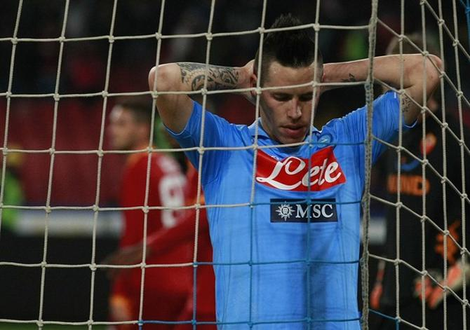 "Марек Хамшик, несмотря на гол в ворота ""Ромы"", едва ли может занести вечер себе в актив."