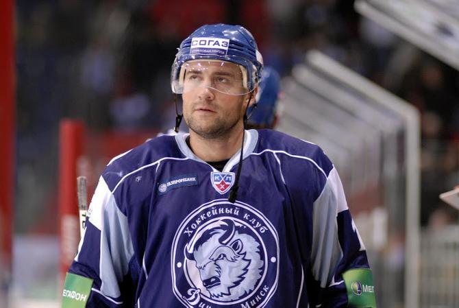 Александр Кулаков – единственный хоккеист, играющий в «Динамо» с момента возрождения клуба.