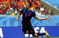 Робин ван Перси, сборная Голландии, ЧМ-2014
