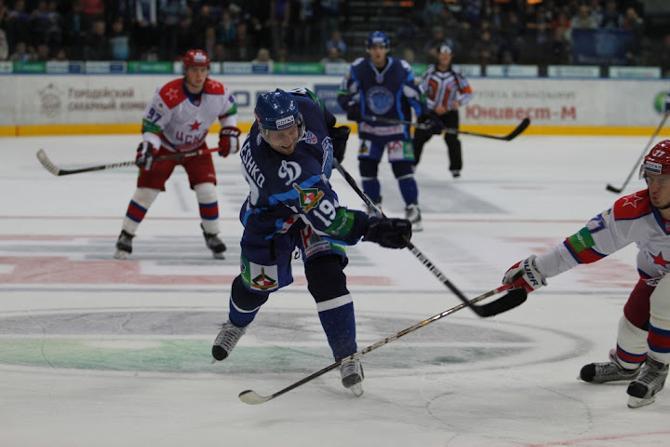 Дмитрию Мелешко удался хороший матч.