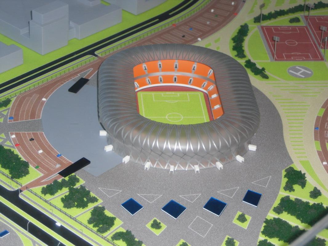 Стадион своими руками