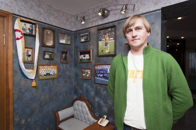 Александру Лухвичу есть что вспомнить о своей карьере