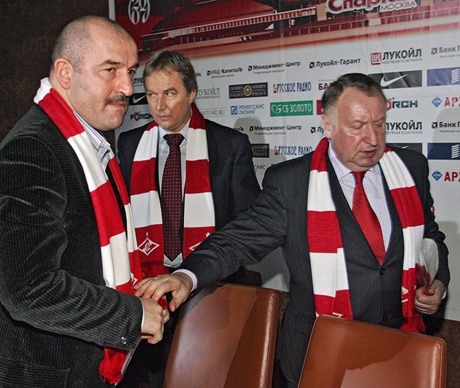 Станислав Черчесов, Сергей Шавло и Владимир Федотов
