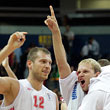сборная России, сборная Македонии, Евробаскет