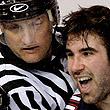 НХЛ, фото, Зак Стортини, Эрик Боултон, Эдмонтон, Атланта, драки