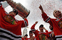 Монреаль, фото, НХЛ, Ги Лефлер, Иван Курнуайе