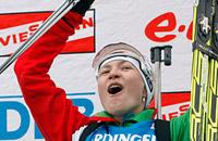 сборная Беларуси жен, фото, ЧМ-2012, Дарья Домрачева