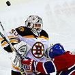 НХЛ, фото, Тим Томас, Скотт Гомес, Бостон, Монреаль