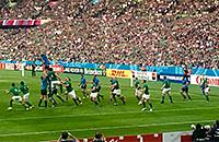 сборная Италии, сборная Ирландии, Кубок мира