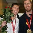 Никита Моргунов, Сергей Тараканов, сборная России, Евробаскет-2007, Черный