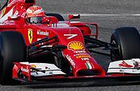 Феррари, Кими Райкконен, тесты Формула-1, фото, Формула-1
