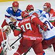 сборная России, сборная Беларуси, ЧМ-2014