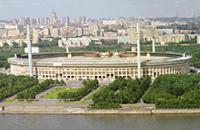 Лужники, стадионы, Москва-1980