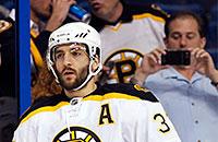 НХЛ, фото, Патрис Бержерон, Бостон, локаут, КХЛ