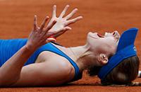 Ролан Гаррос, WTA, Ализе Корне
