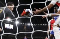 Лига чемпионов, Арсенал, Олимпиакос, видео, Давид Оспина, Константинос Фортунис