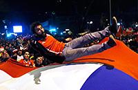 сборная Чили, болельщики, фото, Кубок Америки