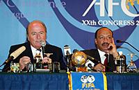 ФИФА, Йозеф Блаттер, Леннарт Юханссон, Футбольная ассоциация Катара, Мохамед Бин Хаммам