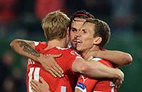 сборная Австрии, сборная России