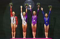 спортивная гимнастика, сборная России жен, чемпионат мира, Виктория Комова, Мария Пасека, Дарья Спиридонова