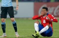 Эдинсон Кавани, сборная Чили, Кубок Америки, сборная Уругвая, Гонсало Хара