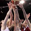 сборная России жен, сборная Латвии жен, Евробаскет-2009 жен