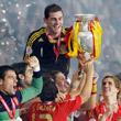 Луис Арагонес, сборная Испании, сборная Германии, Йоахим Лев, Михаэль Баллак, фото, Евро-2008