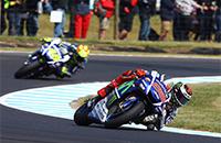 Валентино Росси, Хорхе Лоренсо, Ямаха, чемпионат мира MotoGP
