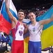 спортивная гимнастика, чемпионат Европы, сборная России, сборная Украины, Давид Белявский, Олег Верняев