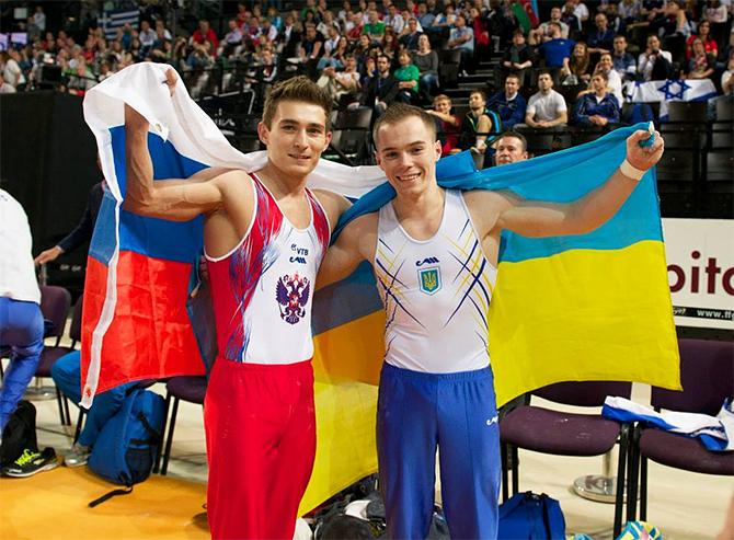 Украинец Верняев завоевал серебро на чемпионате мира по спортивной гимнастике - Цензор.НЕТ 8697