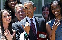 женская НБА, Барак Обама