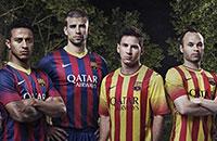 Nike, Adidas, Puma, примера Испания, Барселона