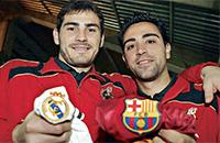Барселона, Реал Мадрид, Хави, Икер Касильяс