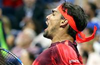 Рафаэль Надаль, US Open, ATP, Фабио Фоньини