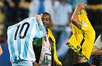 сборная Бразилии, Лионель Месси, сборная Аргентины, болельщики, Кубок Америки, сборная Боливии, сборная Ямайки, Неймар, Мартин Смедберг-Даленсе