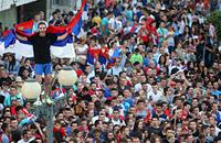 сборная Сербии U-21, болельщики, видео, молодежный ЧМ-2015
