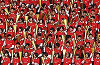 болельщики, сборная КНДР, сборная Филиппин