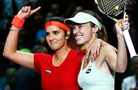 Мартина Хингис, Саня Мирза, WTA