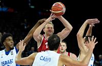 сборная России, сборная Израиля, Чемпионат Европы по баскетболу-2015