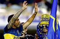 Карлос Тевес, Бока Хуниорс, болельщики, фото