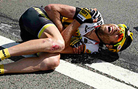 Тур де Франс, велошоссе, происшествия, Фабиан Канчеллара, Дмитрий Козончук