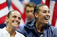 Флавия Пеннетта, Роберта Винчи, US Open, WTA