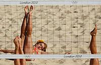 пляжный волейбол, фото