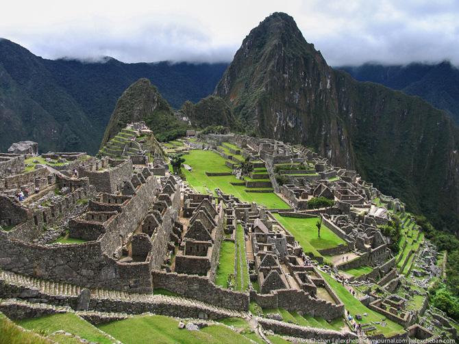 Перу. Мачу Пикчу – монастырь
